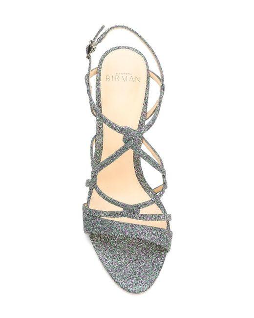 Sandali di Alexandre Birman in Metallic