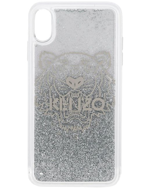 メンズ KENZO タイガーヘッド Iphone X ケース Multicolor