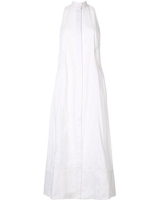 Camilla & Marc マキシ シャツドレス White