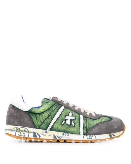 Premiata Green Lucy Var 4574 Sneakers for men