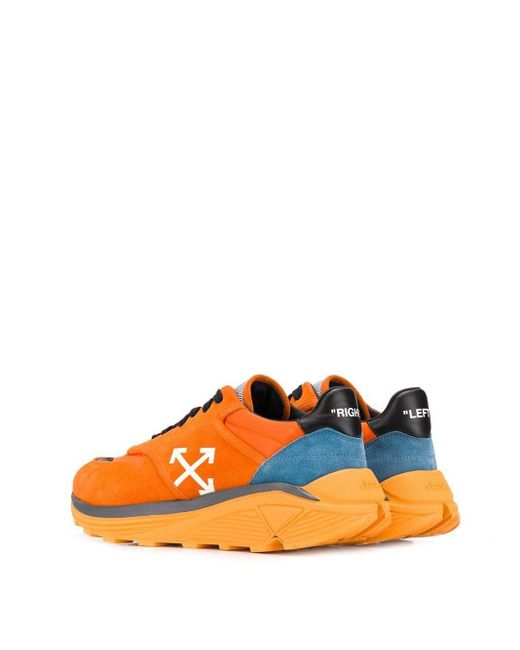 Baskets Jogger homme de coloris orange
