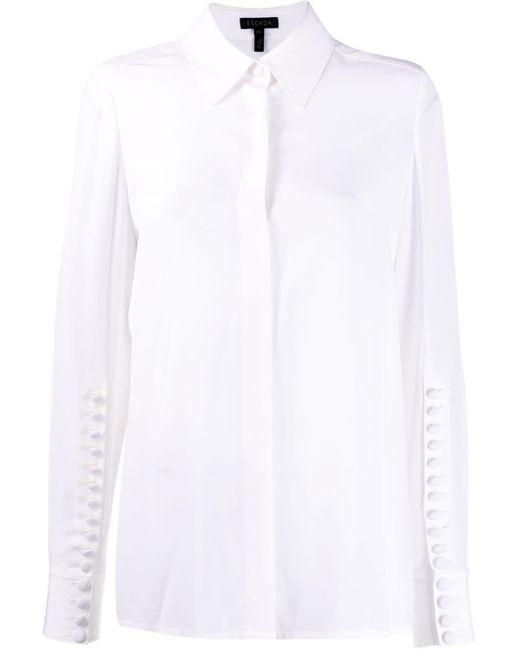 ESCADA マルチボタン シャツ White