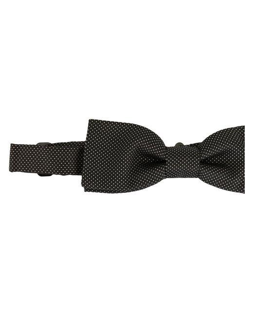 メンズ Dolce & Gabbana ドット 蝶ネクタイ Black
