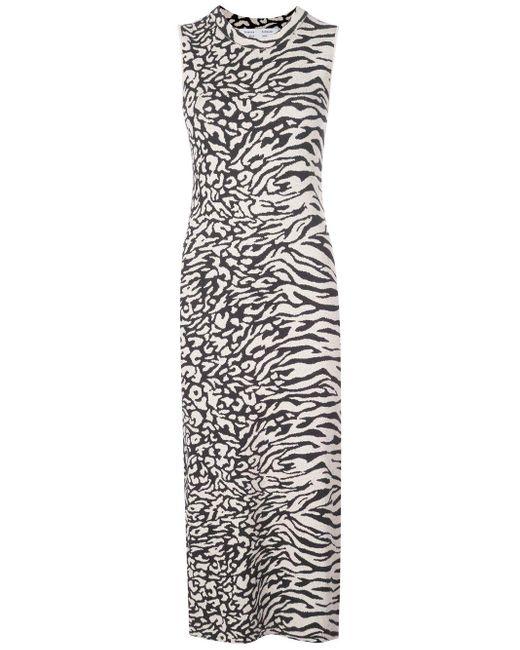PROENZA SCHOULER WHITE LABEL ジャカード ドレス Black