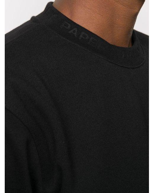 メンズ Daily Paper ラウンドネック セーター Black