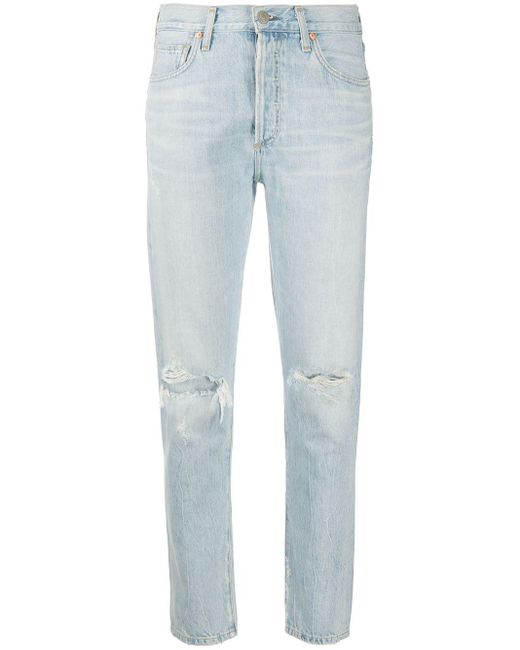 Jeans slim Liya di Citizens of Humanity in Blue