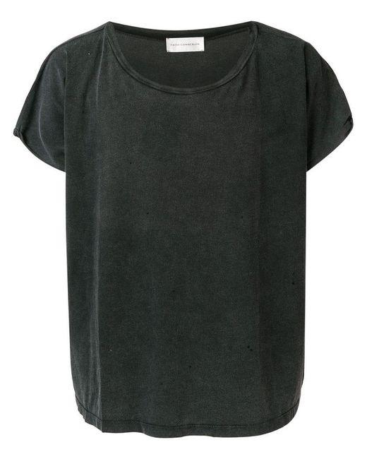 Faith Connexion - Gray T-shirt à effet usé for Men - Lyst