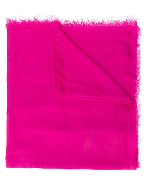 Faliero Sarti シルクスカーフ Pink