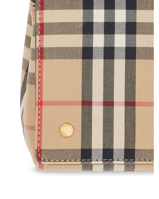 Маленькая Сумка Через Плечо В Клетку Vintage Check Burberry, цвет: Multicolor