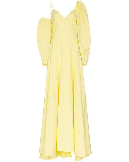 Rosie Assoulin Ups And Downs マキシドレス Yellow