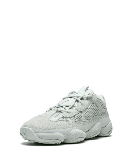 best service 58117 d4dcc Men's Gray Adidas X Yeezy 500 Salt Sneakers
