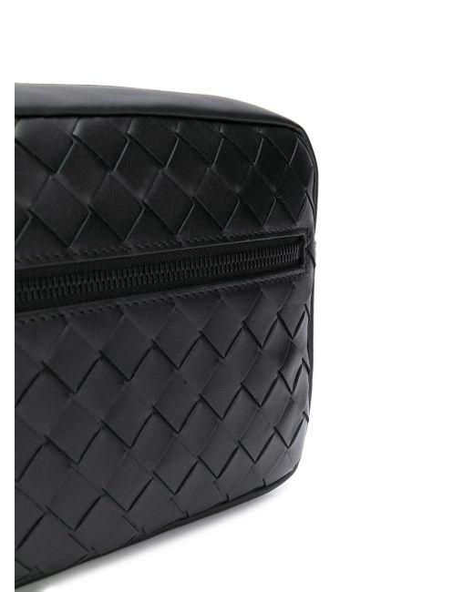 メンズ Bottega Veneta イントレチャート ベルトバッグ Black