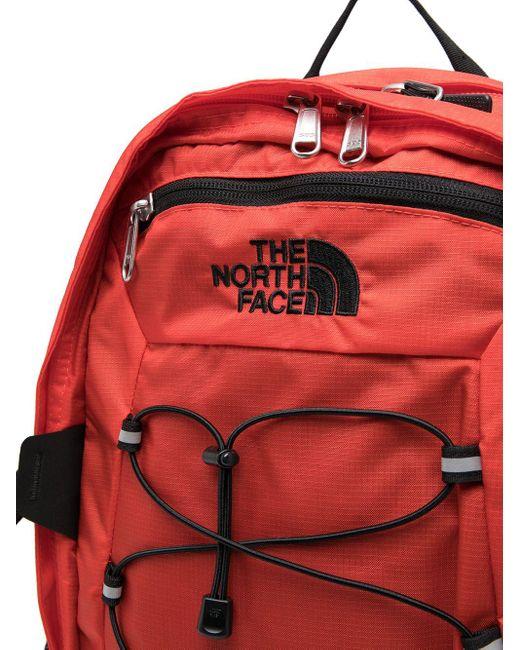 メンズ The North Face ドローストリング バックパック Red