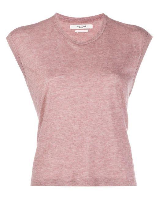 Étoile Isabel Marant クロップド Tシャツ Pink