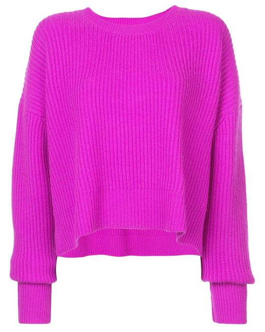 Re/done リブニット セーター Pink