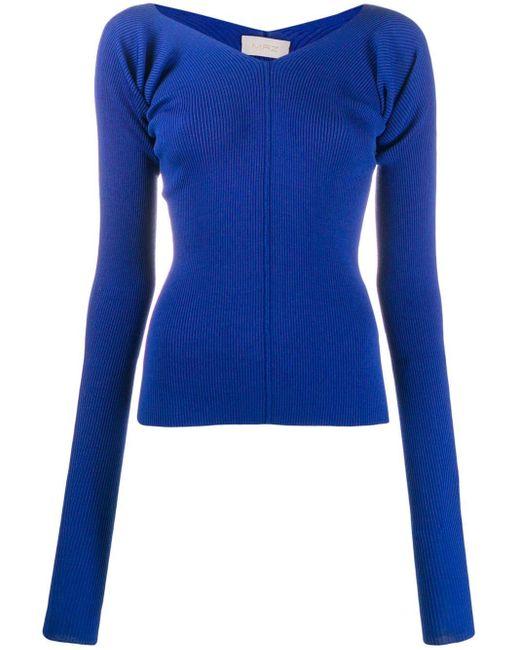 Mrz リブニット セーター Blue