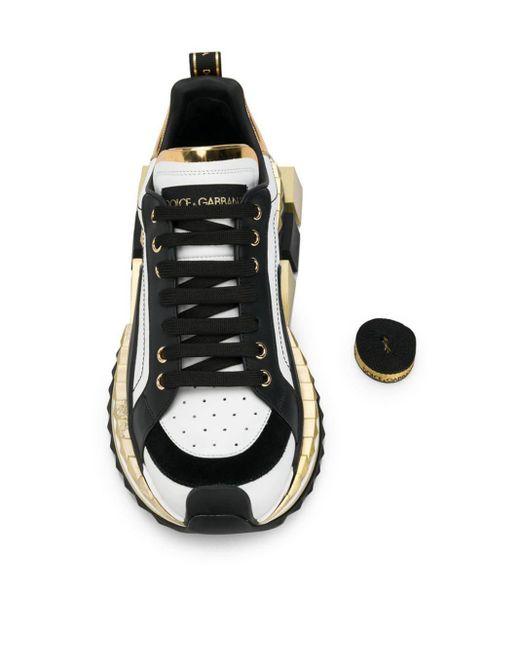 Кроссовки Super King Dolce & Gabbana для него, цвет: Black