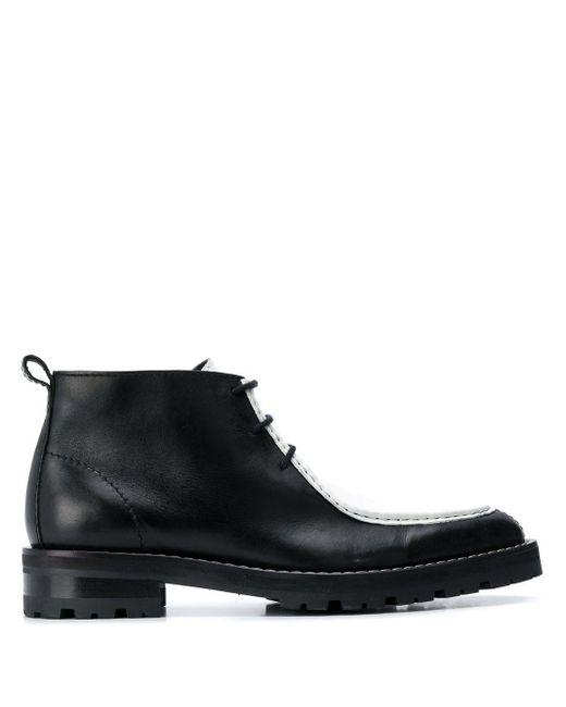 Ботинки С Контрастной Вставкой AMI для него, цвет: Black