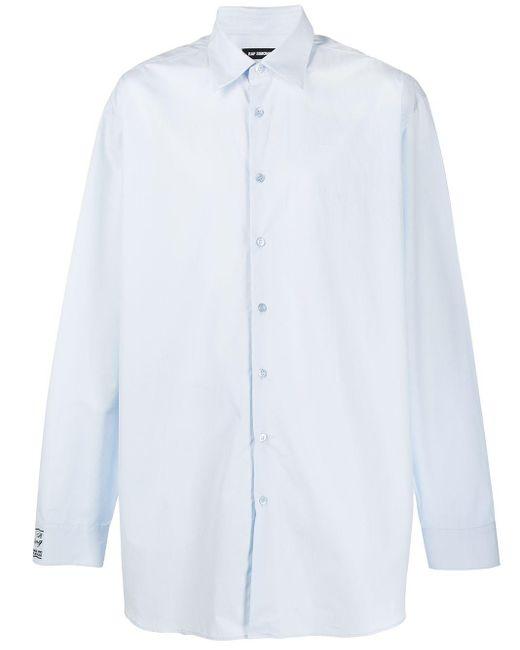 メンズ Raf Simons オーバーサイズ シャツ White