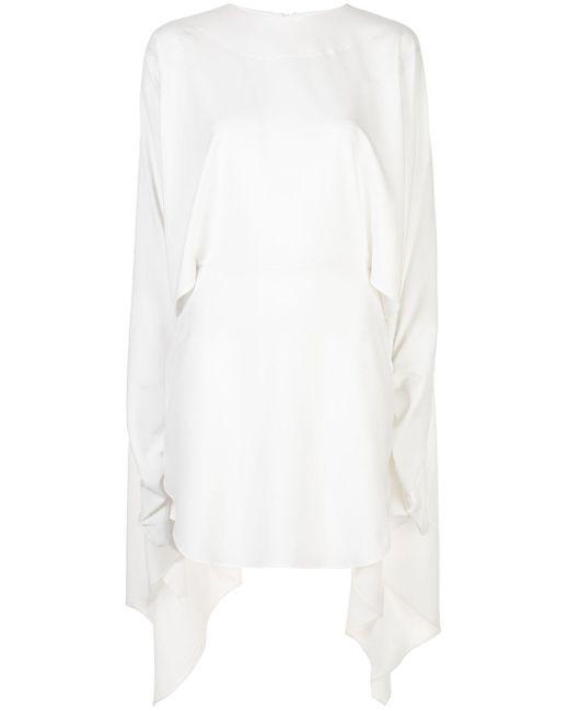 Paula Knorr ハイローヘム ドレス White