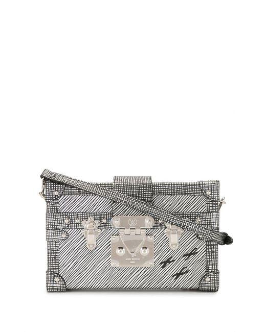 Сумка На Плечо Petite Malle 2016-го Года Louis Vuitton, цвет: Metallic
