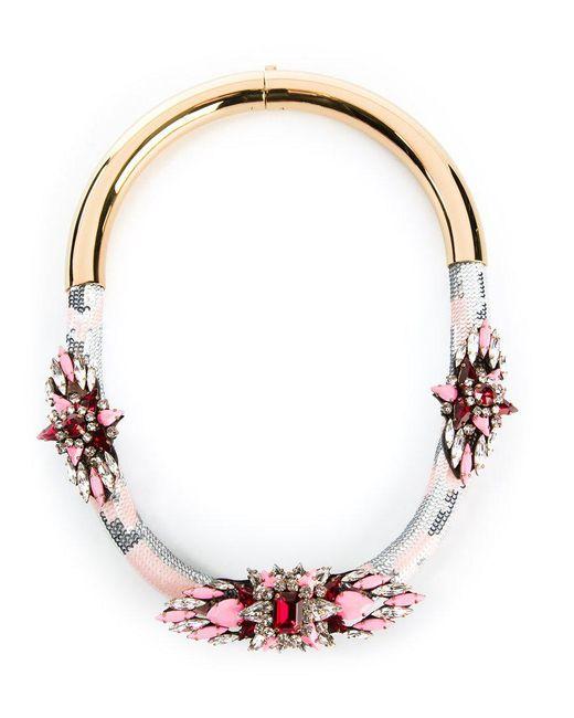 Shourouk | Multicolor 'mamba' Necklace | Lyst