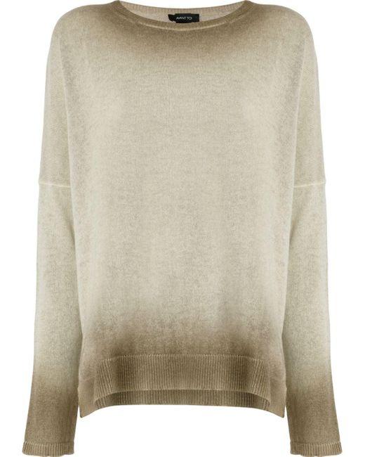 Avant Toi オーバーサイズ セーター Multicolor