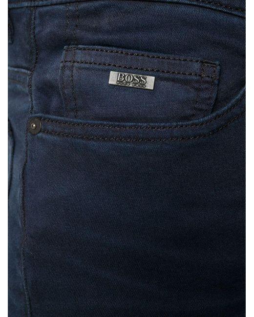 メンズ BOSS by Hugo Boss フローラル シャツ Blue
