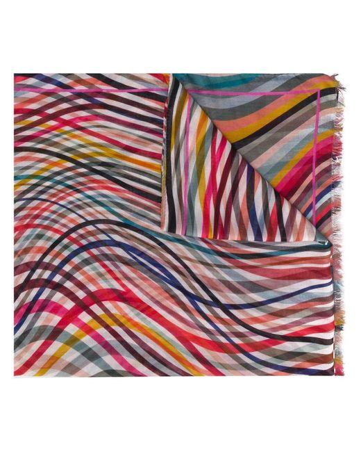 Paul Smith ウェーブ スカーフ Multicolor