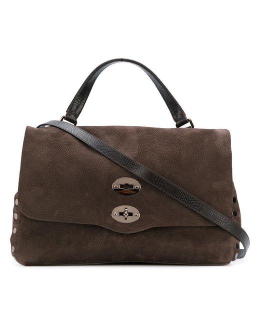 Zanellato | Brown Studded Tote | Lyst
