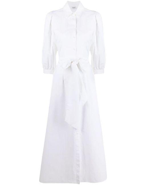 Liu Jo クロップドスリーブ シャツドレス White