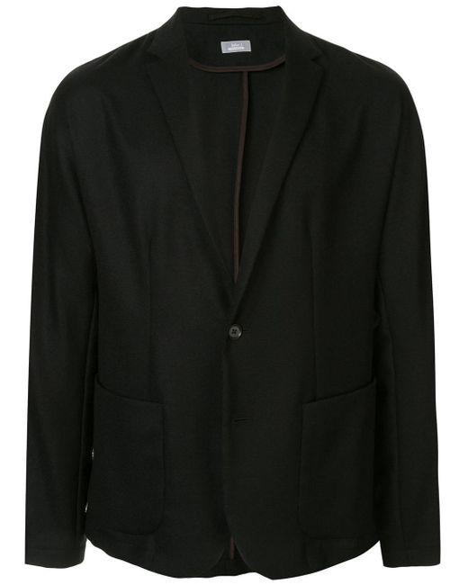 メンズ Kolor スリムフィット ジャケット Black