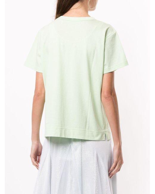 Tu Es Mon Tresor ビジュー Tシャツ Multicolor