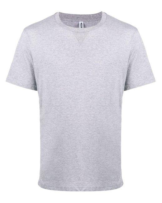 T-shirt a girocollo di Moschino in Gray da Uomo