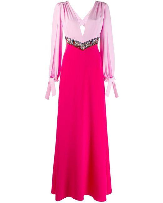 Emilio Pucci スパンコール ドレス Pink