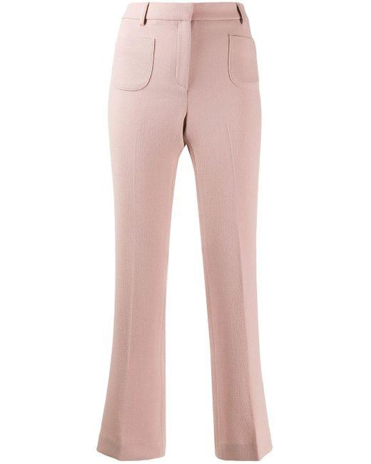 L'Autre Chose フレアパンツ Pink