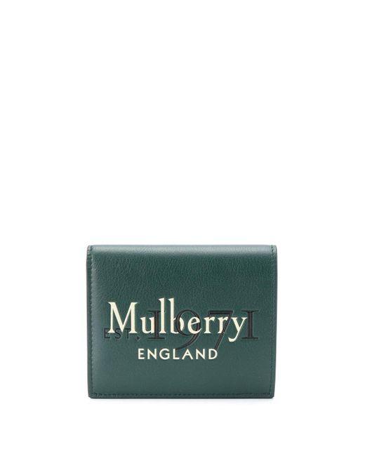 メンズ Mulberry 三つ折り財布 Green