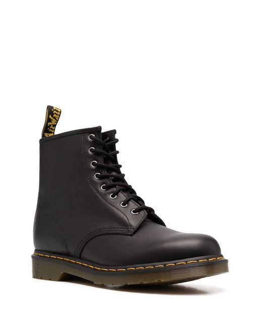 Ботинки В Стиле Милитари Dr. Martens для него, цвет: Black