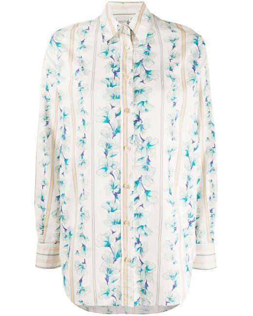 Forte Forte Camisa de manga larga con estampado Guadaloupe de mujer 43knI