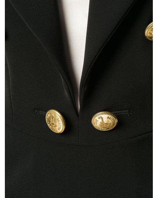 Boutique Moschino テーラード ドレス Black