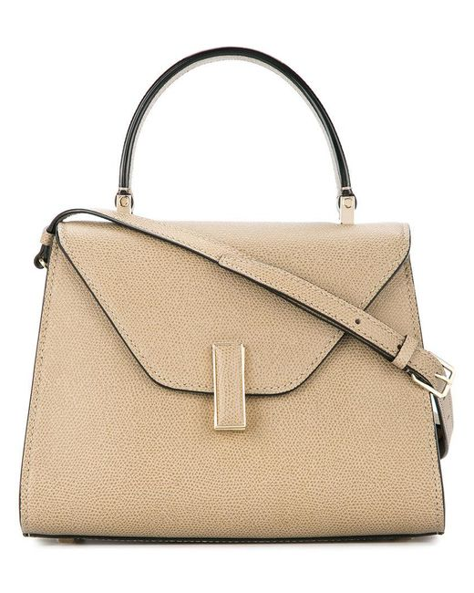 Valextra - Brown Trapeze Shoulder Bag - Lyst