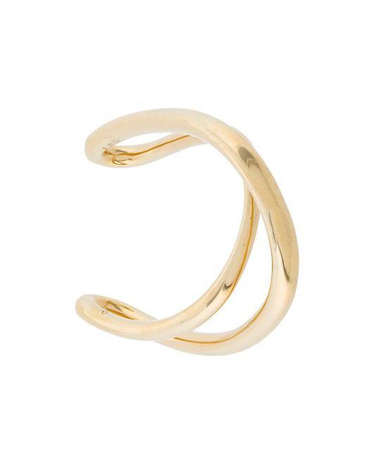Charlotte Chesnais - Metallic Initial Bracelet - Lyst