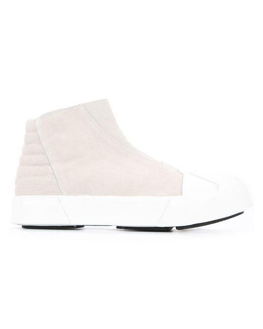 Julius - White Platform Hi-top Sneakers for Men - Lyst