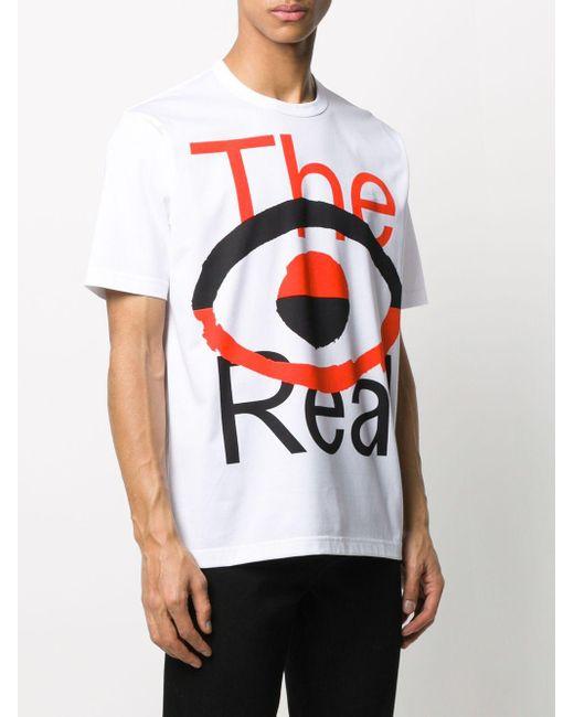 メンズ Junya Watanabe グラフィック Tシャツ White