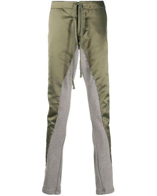 メンズ Greg Lauren ジョガーパンツ Multicolor