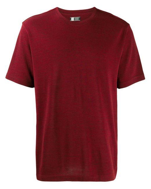 メンズ Z Zegna クルーネック Tシャツ Red