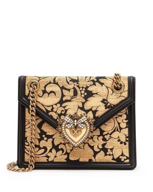 Dolce & Gabbana Devotion ショルダーバッグ M Metallic