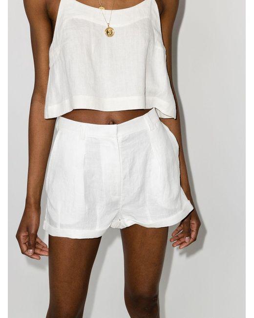 Pantalones cortos Ostuni Bondi Born de color White