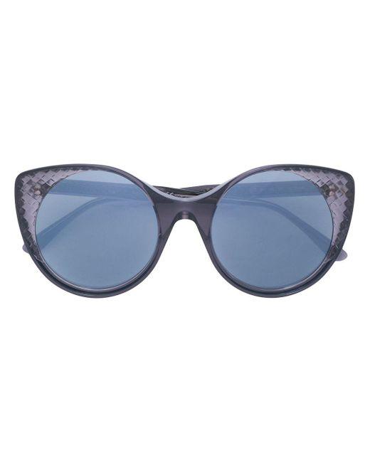 Bottega Veneta キャットアイ サングラス Blue