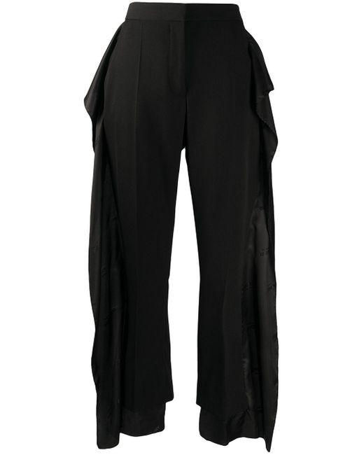 Burberry レイヤード パンツ Black